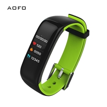 Купить с кэшбэком IP67 Waterproof Fitness Tracker HR Smart Watch for with Heart Rate Blood Pressure Monitor Calorie Counter GPS Tracker Pedometer