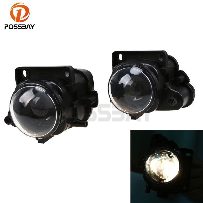 POSSBAY Super Bright Front Lower Fog Light Lamp Bumper Fit for <font><b>Audi</b></font> <font><b>A6</b></font> sedan/Avant(<font><b>C5</b></font>) 1998 <font><b>1999</b></font> 2000 2001 External Fog Luces image