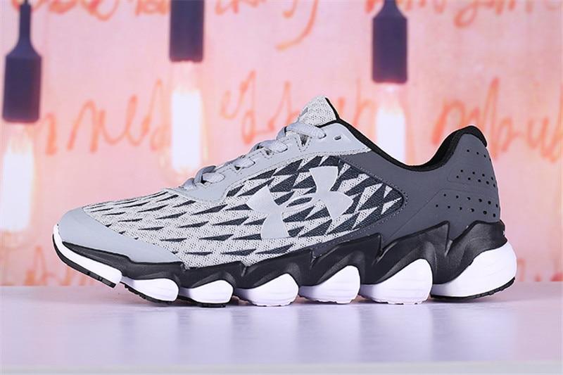 sale retailer e0bf4 c9131 Under Armour Mens UA Spine Disrupt Running Sport Shoes Summer Breathable  Mesh Upper Lightweight Comfort Outdoor Training Sneaker
