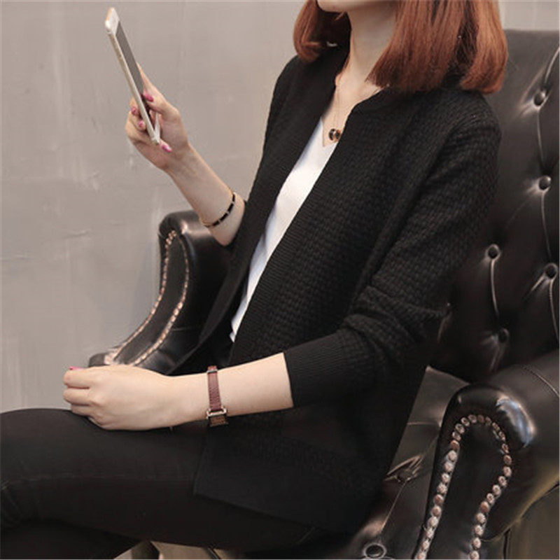 Women casual long Spring cardigan female Loose Oversized jackets knitted jumper 2019 warm autumn sweater cardigan girls PZ1326
