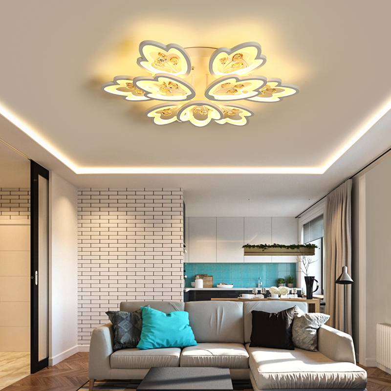 Modern LED ceiling chandelier lights led lamp for bedroom living room lampadario moderno Lustre Chandelier Lighting AC85-265V