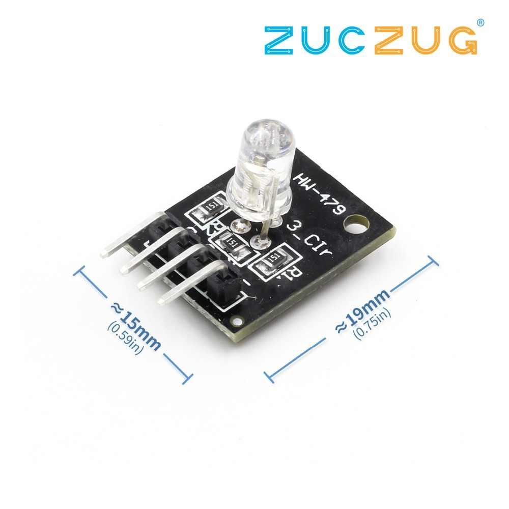 KY-016 RGB светодиодный 3 цвета света модуль MCU AVR PIC Raspberry DIY Kit