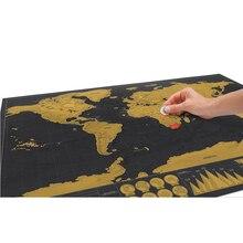 Роскошная черная декоративная карта мира, Скретч Карта мира, персонализированная карта для путешествий, скретч для карты, украшение для дома, наклейки на стену