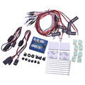 No Soldering 12-LED RC Car Truck Flashing Head Light Lighting Kit Rc Toy Parts