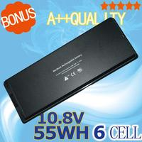 55Wh Black Battery For Apple A1185 A1181 For Macbook 13 Inch MA472 MA701 MA566 MA566FE A