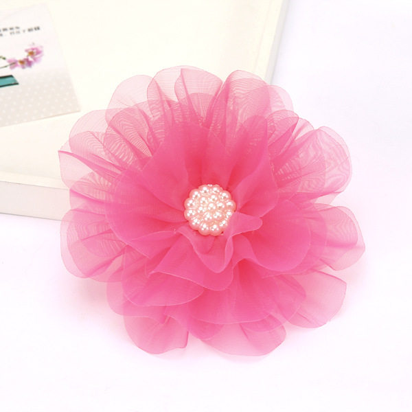 Tienda Online Aikelina nios Adornos Flores grandes horquilla nia