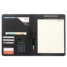 A4 File manager folder escolar notebook Folder Business book Office Document Card Acceptance Card  slot Calculator slot free pen harphia a4 snap brief case business file folder portfilio with calculator no pen spring binder manager bag fpdb 435 pratical
