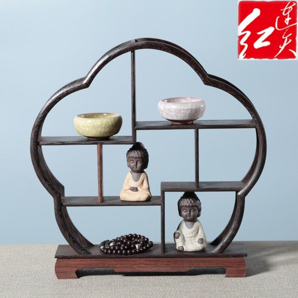 Rotem Sandelholz Miniaturen Wohnzimmer Holz Schreibtisch Figuren ...