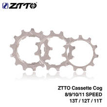 ZTTO MTB Road Bike Cassette Cog 8 9 10 11 Speed 11T 12T 13T Freewheel for SRAM shimano Flywheel Replacement Cogs