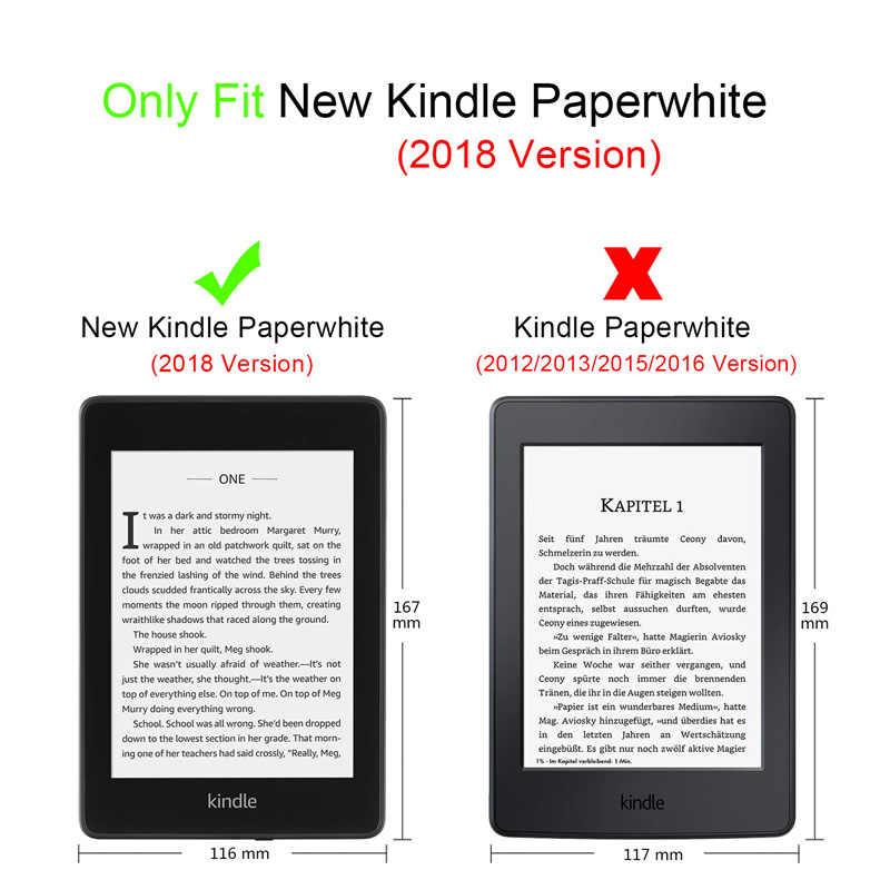 Magnetische Smart Cover Case Voor Amazon Nieuwe Kindle Paperwhite 2018 Vrijgegeven Case funda Voor Kindle Paperwhite 4 10th Generatie Case