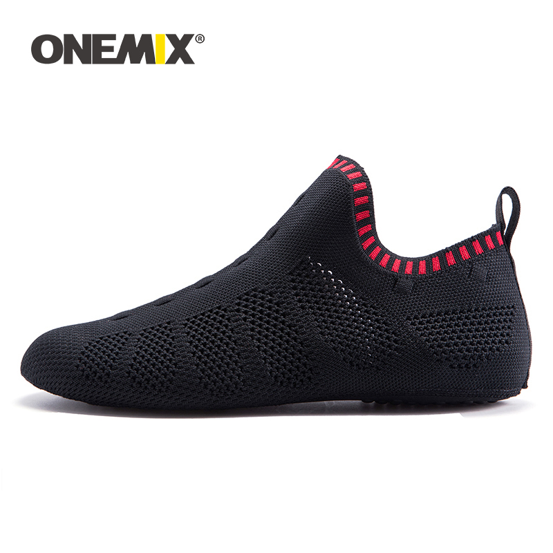 ONEMIX 2020 Spring Newest Women Multifunction Sock Shoes Men Casual Indoor Slippers Breathable Mesh Quick Dry Light Yoga Shoes