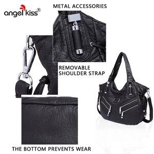 Image 5 - Angelkiss bolsa feminina bolsas de couro do plutônio feminino bolsa de ombro crossbody bolsa de ombro superior alça bolsa bolsa bolsa bolsa