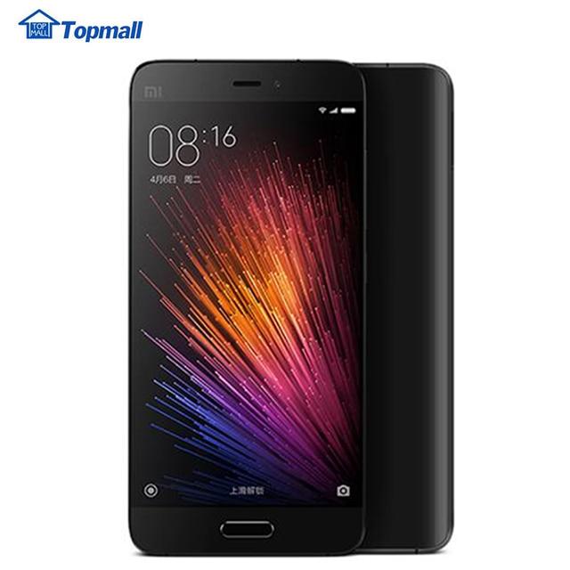"Original Xiaomi Mi5 Mobile Phone 32GB ROM  Snapdragon 820 Quad Core 5.15"" Quick Charge 1920x1080 16MP Camera Fingerprint ID NFC"