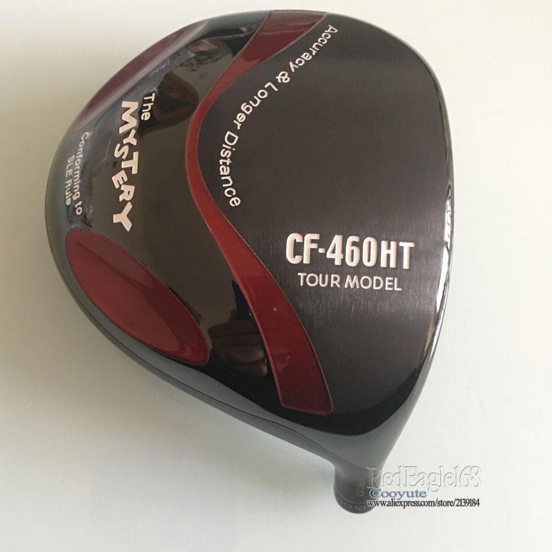 New Golf Heads MYSTERY CF-460HT Titanium Golf Drivers 10.5or 9.5 Loft Golf Clubs Heads No Drivers Shaft Free Shipping
