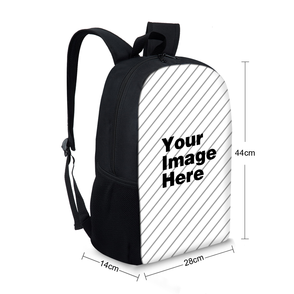 Yellow Summer Ice Cream Printed Knapsacks For School Girls Cartoon Cute Schoolbags For Boys Kids Shoulder Back Pack Backbag