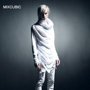 MIXCUBIC spring summer punk style Night costumes Slub hooded T shirts men Long section casual slim hooded T-shirts for men,M-XL