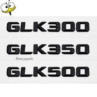 Xe Kiểu Dáng Xe Rear Sticker Emblem Badge Số Tự Động Trang Trí Phụ Kiện Xe Hơi Cho Mercedes Benz GLK300 GLK350 GLK500 W204