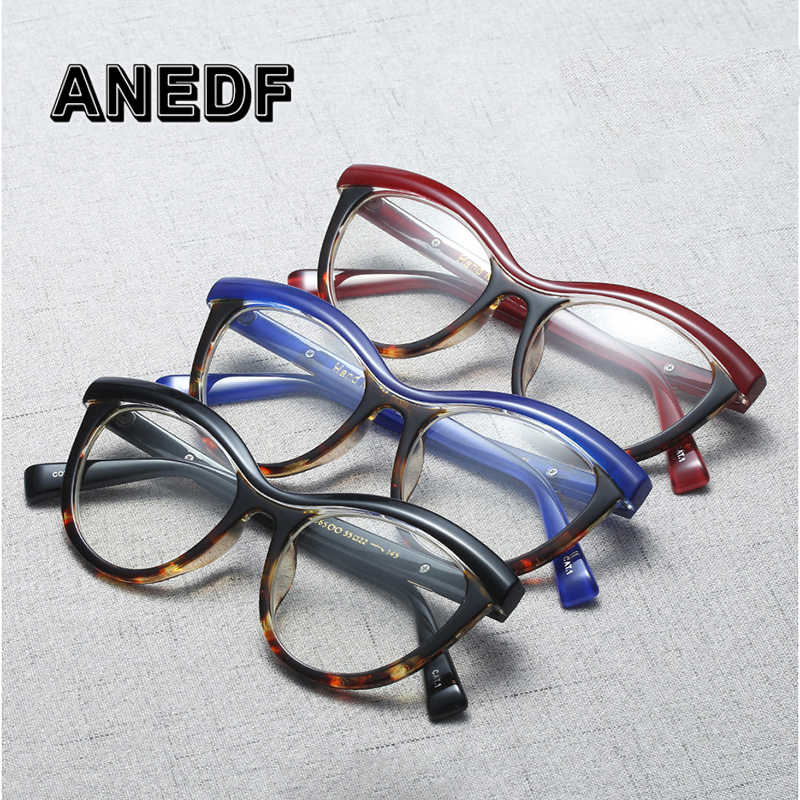 ANEDF брендовые дизайнерские брови квадратные оправы для очков женские оптические очки модные компьютерные очки 2018 Новые