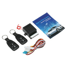 Universal Car Auto Centrale Kit Deurvergrendeling Locking Vehicle Keyless Entry System Met Remote Controllers(China)