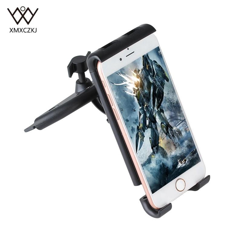 Car Phone Holder Universal 360 Degree Rotation Car CD Slot Stand Phone Mount Holder Support Bracket For Smartphone Tablet GPS
