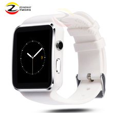 2017 New Bluetooth Smart Watch X6 electronics wearable devices Smartwatch For Apple Android Phone With Camera TF SIM Card slot