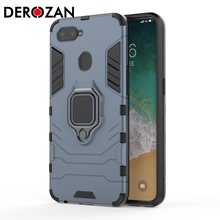 DEROZAN Phone Case For OPPO F9 Case A7X R17 Pro R11S R9 Plus R9S A5 A3s R15 Pro F1 Plus Hard PC+Soft TPU Anti-knock Back Cover