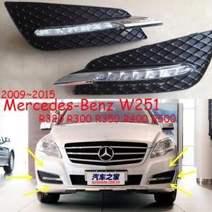 Image 1 - Car bumper daylamp for Mercedes benz W251 daytime light R320 R300 R350 R400 R500 car accessories LED DRL for W251 fog light