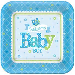 5pcs 18 Inch Welcome Baby Boy Train Anagram Foil Balloons Baby