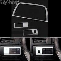 Car Styling Dvd Decoration Trim Interior Frame Sticker Auto Part Fit For Mazda Cx 5 Cx5 2012 2013 2014 abs chrome 2Pcs