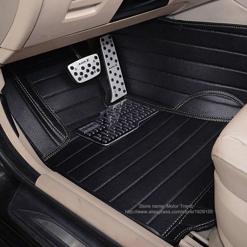 Custom fit car <font><b>floor</b></font> mats for <font><b>Ford</b></font> Edge <font><b>Escape</b></font> Kuga Explorer Fiesta Focus Fusion Mondeo Ecosport 3d car styling liner