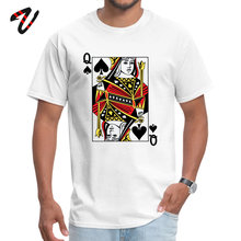 Queen of Spades Pure Cotton Europe Tops & Tees Ajax Newest Grant Samoyed Youth T-shirts cosie NEW YEAR DAY T Shirts O Neck