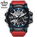 SMAEL Brand Watches Military Dual Time Wristwatch LED Digital Watch Men Sport Watches relogios masculino Quartz Watch  WS1617
