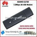 Original Unlock HSDPA 7.2Mbps HUAWEI E1750 3G USB Modem,3G Sim Card Dongle And 3G Data Card