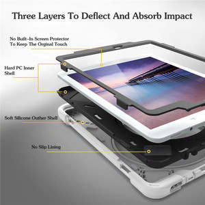 Image 5 - Tablet Case For Samsung Galaxy Tab A 9.7 SM T550 T555 Cover Funda Kids Safe Shockproof Heavy Duty Silicone Hard Hand Holder