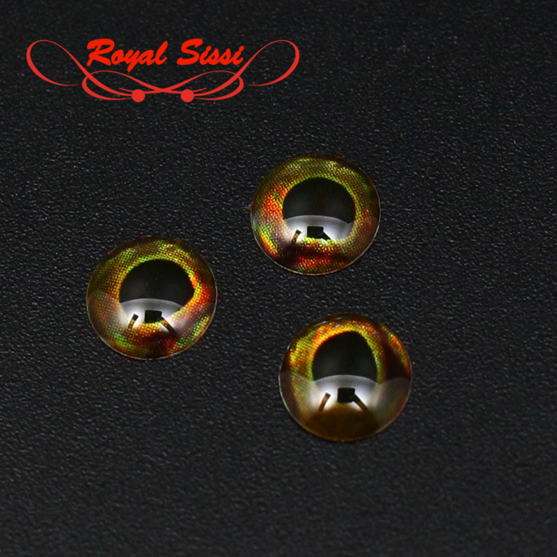 New 100pcs appro. 5.8mm baitfish eye SKULL LIVING EYES 4D fish eye fly fishing lure eye realistic holographic fly tying material 5sheets pack 10cm x 5cm holographic adhesive film fly tying laser rainbow materials sticker film flash tape for fly lure fishing