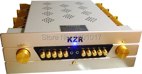 KZR AV-190 5.1 AV Power Amplifier HIFI EXQUIS Home Theater Hi-Fi Sound Quality Power Amp digital hifi karaoke 2ch home theater stereo audio speaker sound amplifier support dual microphone usb sd fm radio amp av 9100