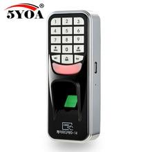 5YOA 5YBM1A отпечаток пальца пароль Блокировка доступа машина биометрический электронный дверной замок RFID считыватель сканер система