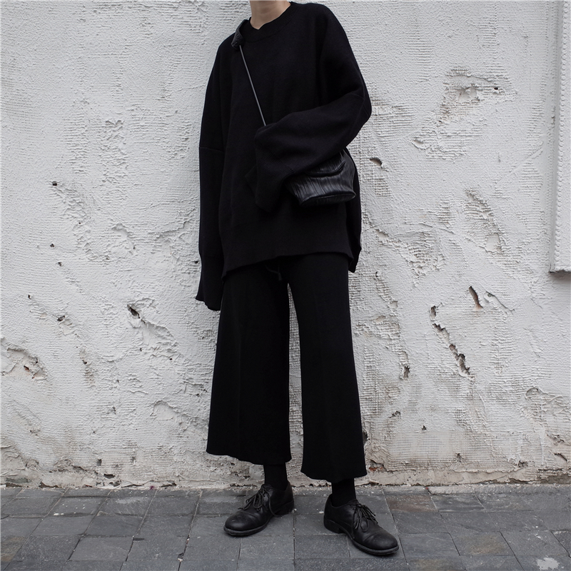 [EAM] 19 New Spring O Collar Full Sleeve Loose Casual Asymmetrical Large Size Kintter Puffover Women Fashion Tide OB275 5