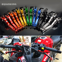 CNC Aluminum Motorcycle Brake Clutch Levers For BMW F800ST 2006-2015 2007 2008 2009 F 800 F800 ST Folding Extendable Adjustable adjustable extendable folding clutch brake levers for hyosung gv 250 gv250 gt 650 nacked 06 07 08 09 gt650r 2006 2007 2008 2009
