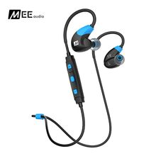 DHL Free delivery MEE audio X7 Bluetooth Sports activities Headphones Deep Bass Wi-fi In-ear Headset Sweat-resistant Earphones With Mic