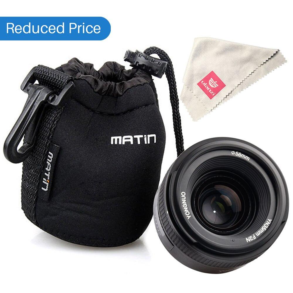 Ulanzi Yongnuo YN35mm F2N objectif grand angle grande ouverture objectif fixe à mise au point automatique pour Nikon D7100 D3200 D3300 D3100 D5100 D90