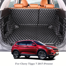 купить For Chery Tiggo 7 2017-Present Car Boot Mat Rear Trunk Liner Cargo Floor Carpet Tray Protector Internal Accessories Mats по цене 7919.11 рублей