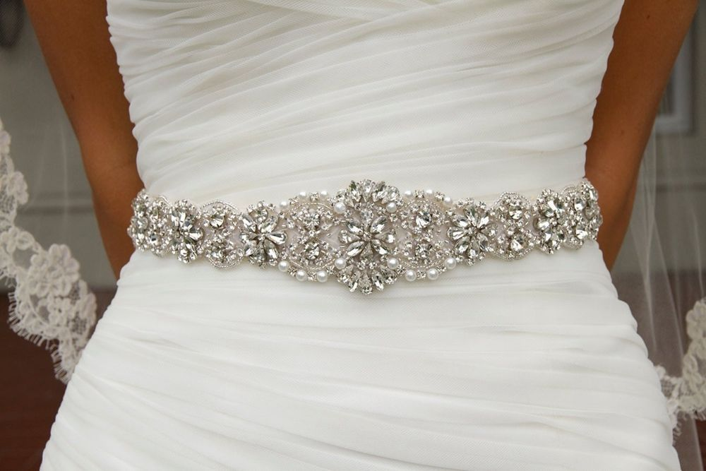 Online Get Cheap Bridal Sash Belt Aliexpress Com