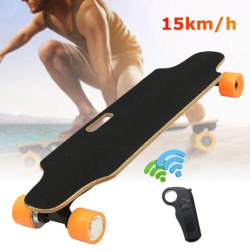W Electric Skateboard Dual Motor Longboard Skate Board Scooter with Wireless Bluetooth