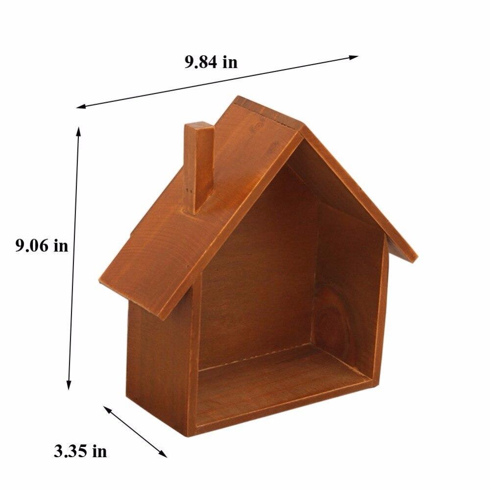 Conosciuto Retro in legno appeso A Parete decorazione della casa rack di  TJ12