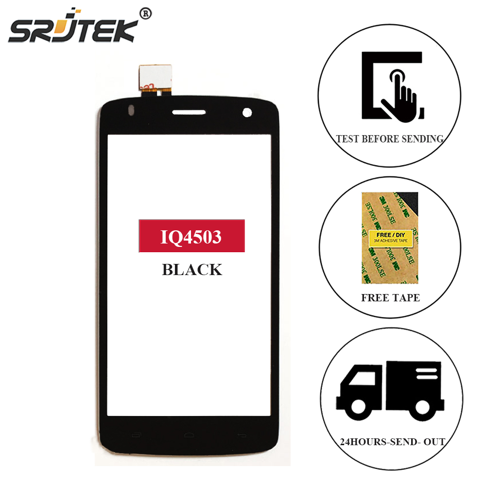 Srjtek For FLY Era Life 6 IQ4503 Touch Screen Digitizer Sensor Front Glass Panel Replacement 5.0 For FLY IQ4503 IQ 4503