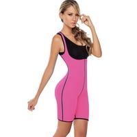 Mulheres Neoprene colete cintura cincher instrutor workout terno sauna cintura corset shaper corpo quente senhora plus size