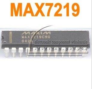 MAX7219 PMIC IC DIP-24 MCU Integrated circuit  drive ic
