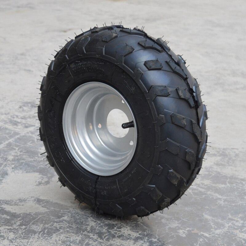 Tubeless Tire ATV Tire 145/70-6 Vacuum Tire with 6 Inch Wheel Hub fits Beach Car Karting Small Bull 145 / 7 0 - 6 ld7530pl ld7530 sot23 6