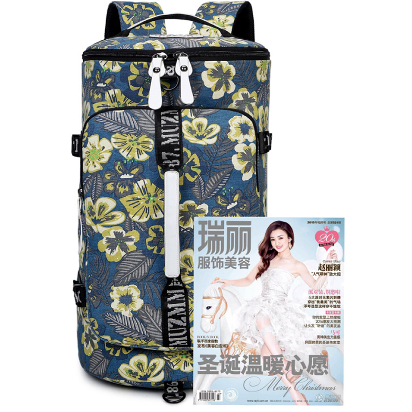 Seyahat çantası kadın 2018 bagaj duffle çantası su geçirmez - Bagaj ve Seyahat Çantaları - Fotoğraf 3